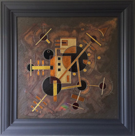'Telstar' an abstract painting by Ben Fearnside