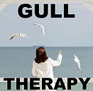 Woman with seagulls 'Gull Therapy' by Anita Sullivan