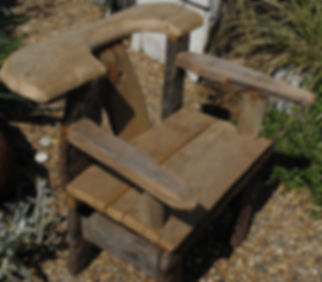 Driftwood chair