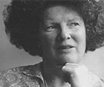 Portrait of Janet Frame writer of 'An Angel at my Table'