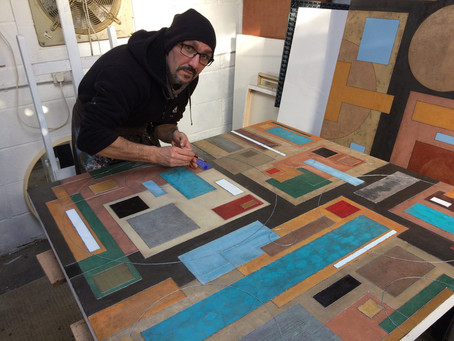 'Where did I put it?' A tour of a working studio
