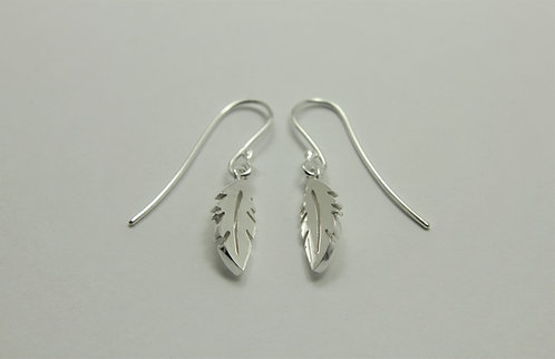 Feather Charm Earrings