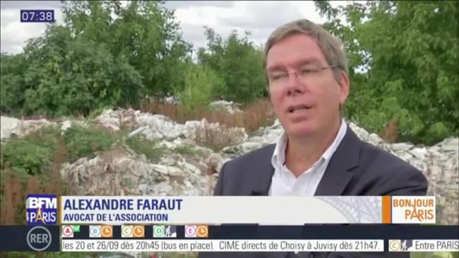 Décharge sauvage dans les Yvelines: une association dénonce l'inaction de l'Etat et l'attaque en justice (BFMTV)