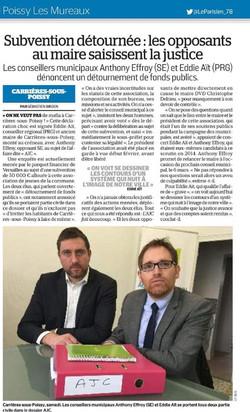 Subvention l'AJC : 43 000€ détourné