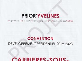 PROJET DE CONVENTION PRIOR'YVELINES REJETÉ PAR LE CONSEIL MUNICIPAL DE CARRIÈRES-SOUS-POISSY