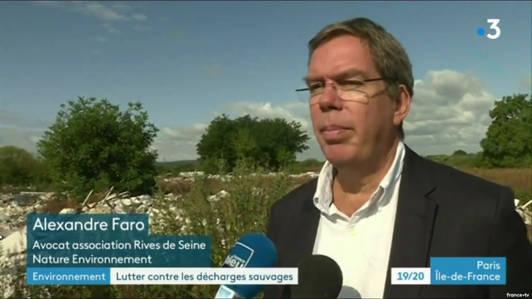France 3 : Une association attaque l'État pour carence fautive, dans le dossier de la décharge sauvage de Carrières-sous-Poissy