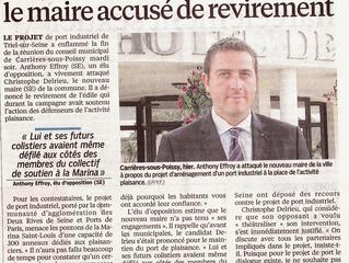 Article du Parisien du 05 juin 2014