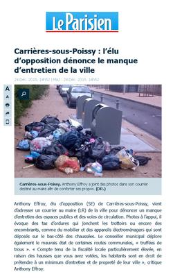 parisien poubelles