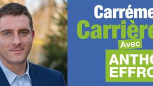 """Anthony Effroy conduira la liste """"Carrément Carrières !"""" aux élections municipales de Carr"""