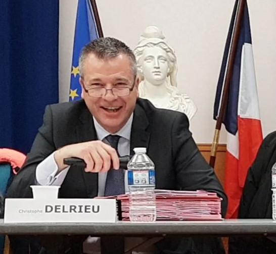 Christophe Delrieu lors du Conseil municipal de Carrières-sous-Poissy du 13 décembre 2018