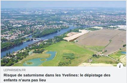 Risque de saturnisme dans les Yvelines