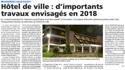 Mairie : 1 million d'€ de rénovation