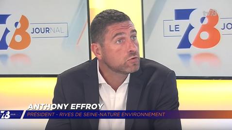Anthony Effroy était l'invité de TV78