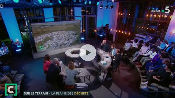 Décharge sauvage de Carrières-sous-Poissy : reportage C Politique sur France 5