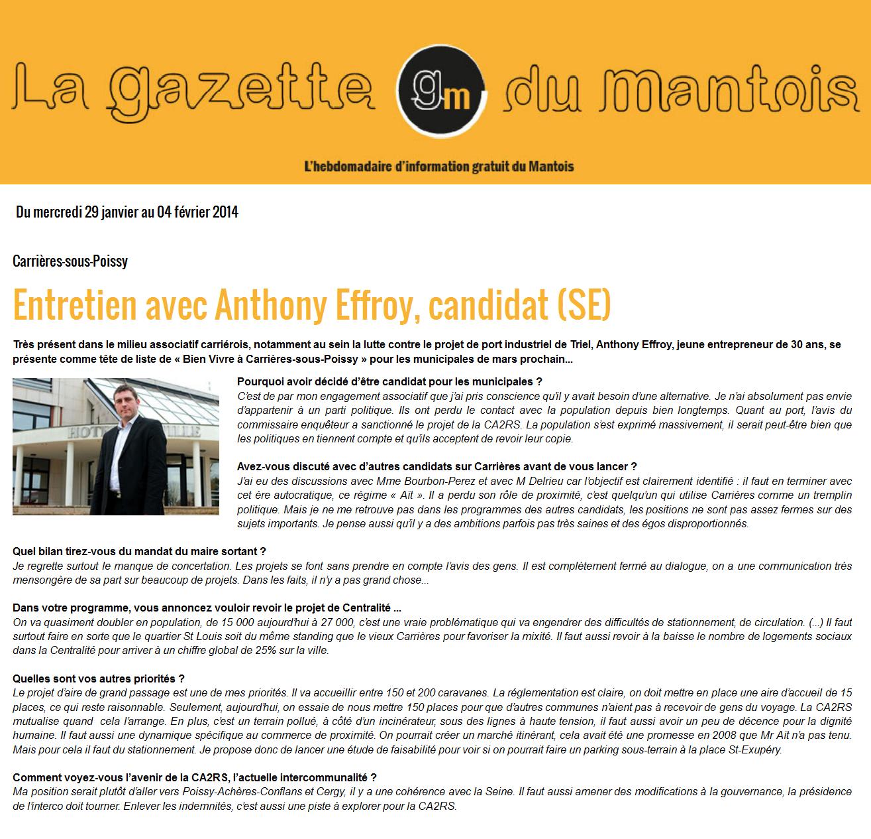 article gazette 29.01.2014