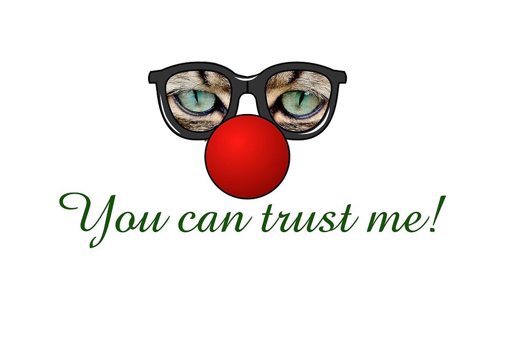 medicine trust story storytelling red nose