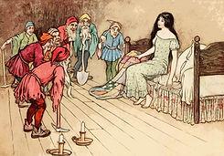 snow white seven dwarves storytelling story medicine fairytale