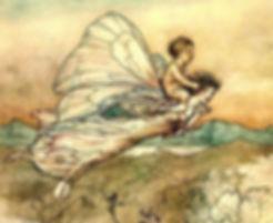 flying fairy baby fairy tale medicine el