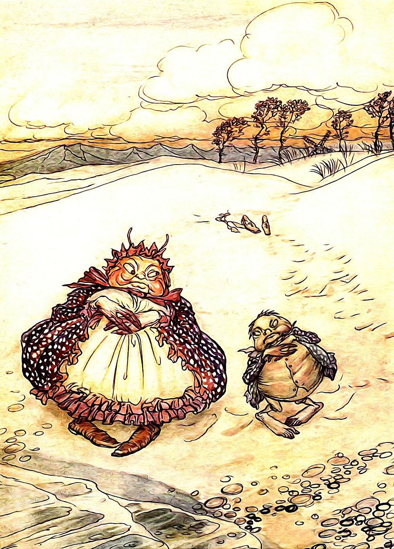 book-illustration fairytale couple story medicine elizabeth-jane-lovely
