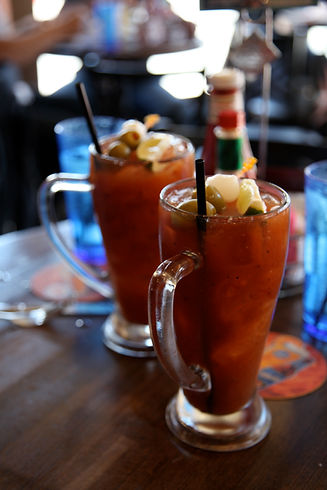 Bloody mary drinks!