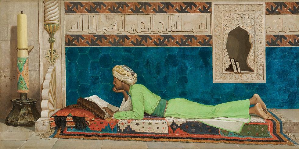 The Scholar_OSMAN_HAMDY_BEY_TURKISH_1842