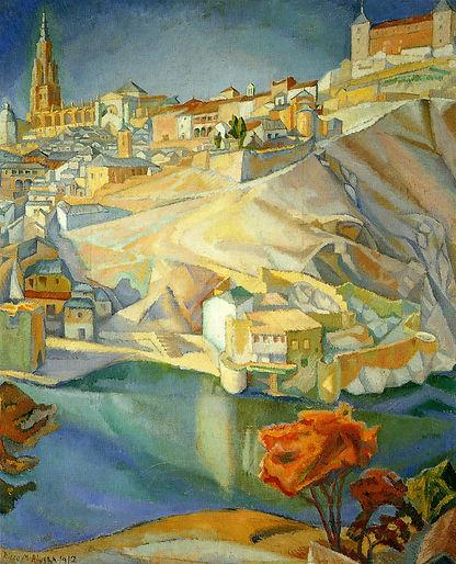 View of Toledo 1913 - Diego Rivera.jpg
