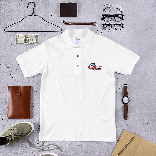 Colours Academy Embroidered Polo Shirt