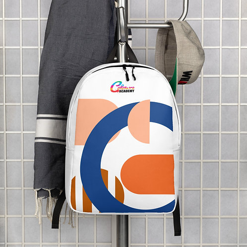 Colours Academy Abstract minimalist style Backpack