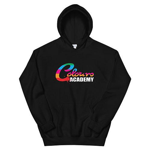 Colours Academy Black Unisex Hoodie