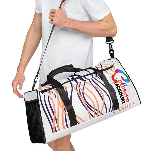 Colours Academy Duffle bag with swirly design