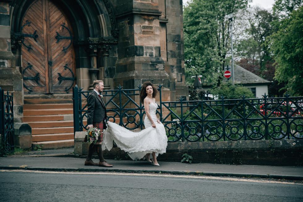 Lindsay + Kyle Cottiers Micro Wedding Gl