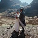 Stephanie +William Glencoe Scottish Elop