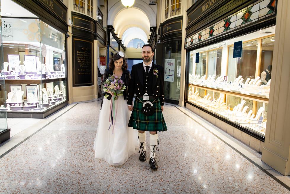 Paula & David Wedding Sloans Glasgow Emm