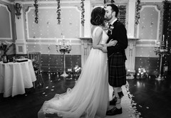 Paula & David Wedding Sloans Glasgow Emm