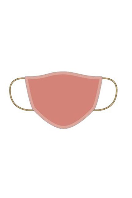 Masque coton lavable Terracota