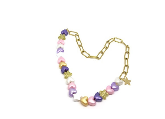 COLLIER HEART GIRLY