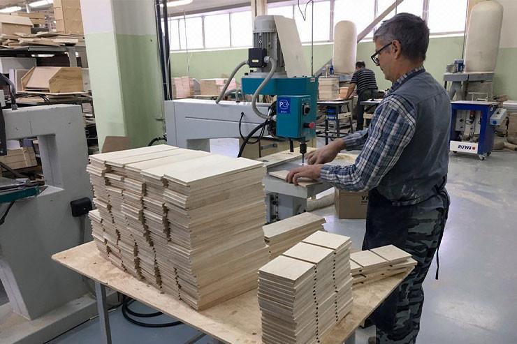 Производство деревянных ящиков и коробок для вина