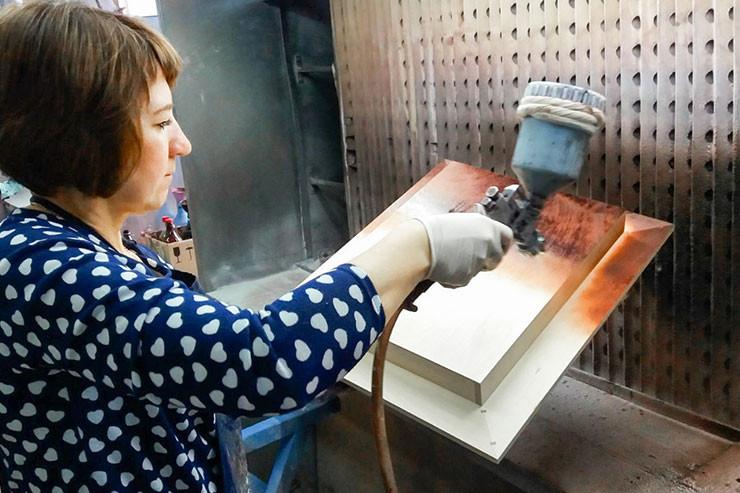 Заказать изготовление деревянных дисплеев для чая и кофе