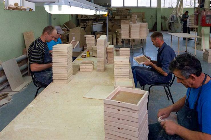 Оптовое производство деревянной упаковки