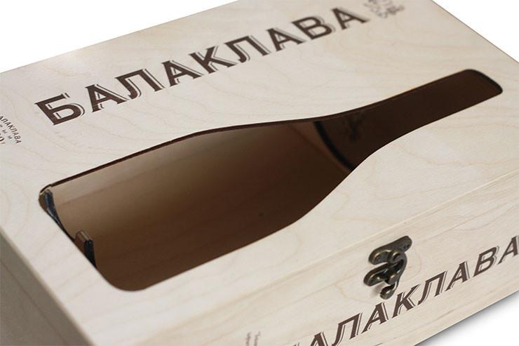Разработка и производство деревянной упаковки для вина и спиртных напитков