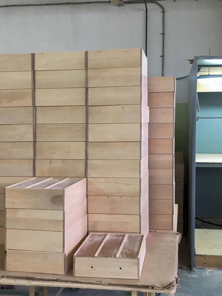 Заказать производство деревянной упаковки вина и спиртных напитков
