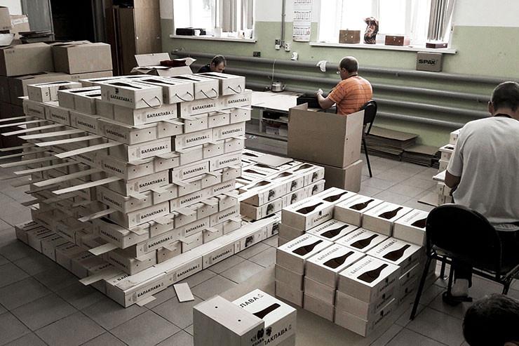 Оптовое производство деревянной упаковки для вина