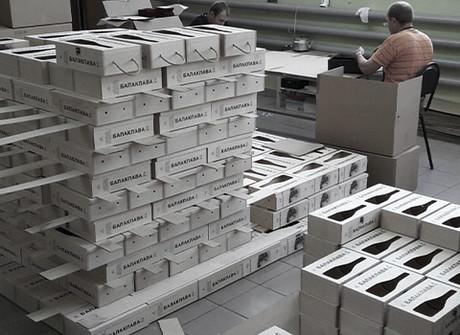 Производство деревянной упаковки для шампанского Балаклава. Кейс.