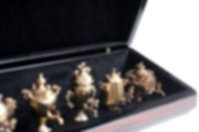 Эксклюзивная шкатулка для миниатюрных самоваров