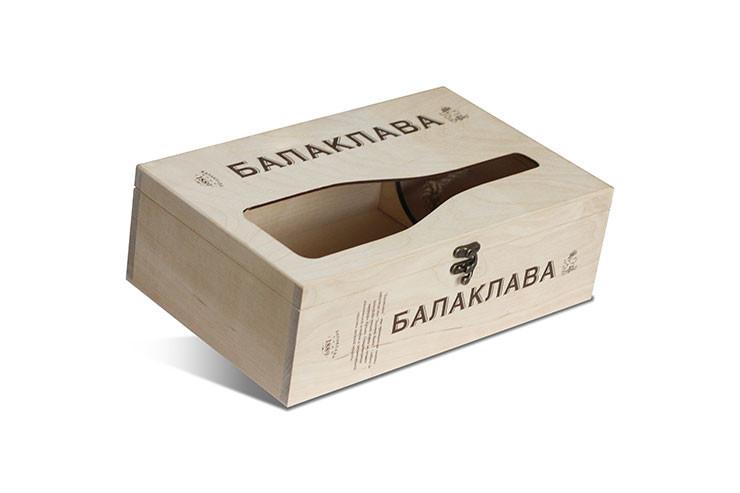 Производство оригинальной упаковки из дерева для вина, шампанского и других спиртных напитков