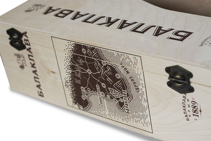 Деревянные ящики для шампанского на заказ