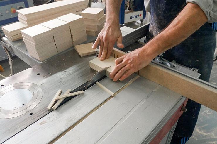 Производство деревянной упаковки для вина