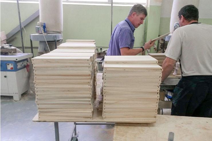 Изготовление деревянной упаковки для алкоголя