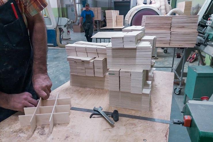 Фабрика по производство деревянных изделий и упаковки на заказ
