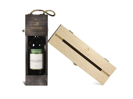 Деревянная упаковка вина. Основные виды.